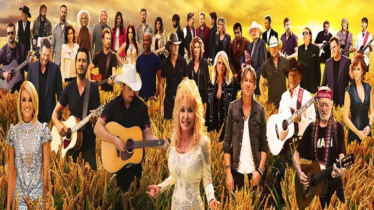 30 Most Famous Country Music Singers Join Forces To Sing An EPIC Mashup Of Classics 1