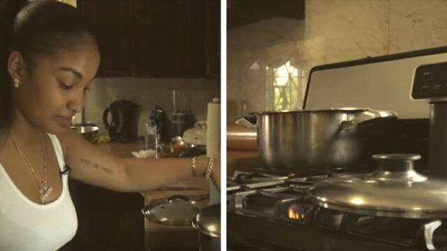 IN THE KITCHEN: Shenseea's stewed chicken and white rice