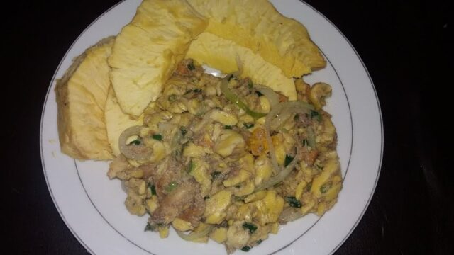 Jamaican Ackee and Saltfish Rundung Style - Video