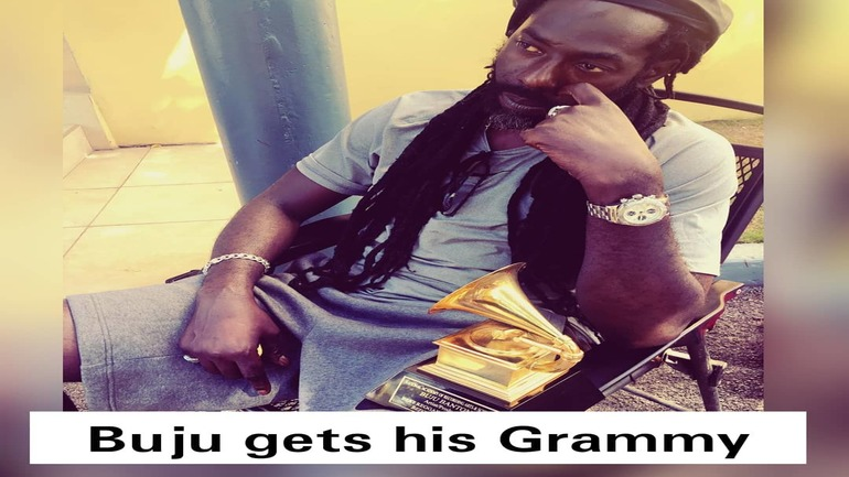 Buju Banton gets his Grammy 1